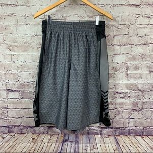 Under Armour Grey Print Athletic Shorts